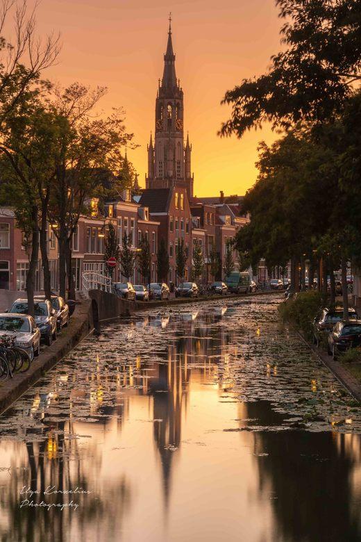 Delft at sunset. - LEE 0.9 SG + LEE 0.9 ND