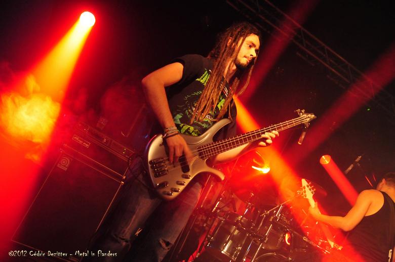 Guilty as Charged - Extra 03.jpg - 'Guilty as Charged' - een Belgische metal band - speelde op 'Metal in Flanders Fest' in de Qubu