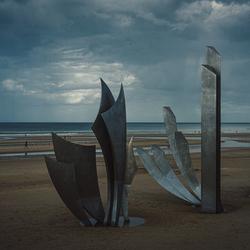 Omaha Beach Monument