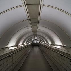 Silence in London Subway