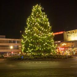 Drachten centrum kerstboom