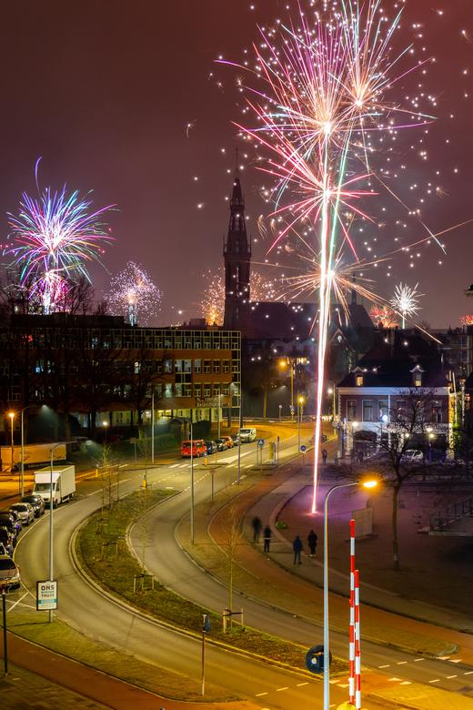 Vuurwerk Groningen  -