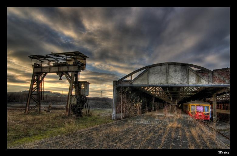 Verlaten station -