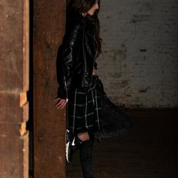 Urban shoot met model