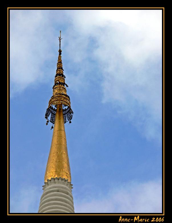 Topje van de tempel... -