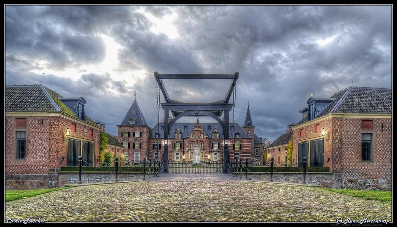 Castle Twickel / Kasteel Twickel - Bewerkte opname van kasteel twickel