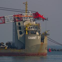 Giant 7 inbound