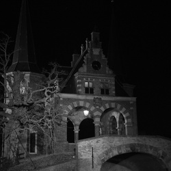 Waterpoort by Night