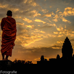 Monnik-Cambodja