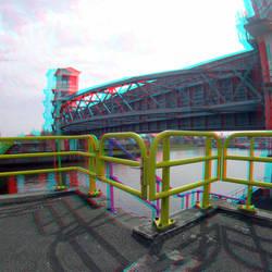 Stormvloedkering Hollandse IJssel Krimpen a/d IJssel 3D Gopro