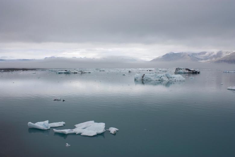 Serene rust - Jökulsárlón gletsjermeer