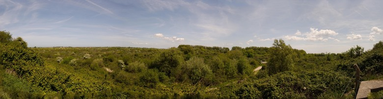 panorama bunkerroute - Bunkerroute Ouddorp