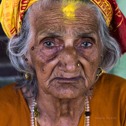 the beautiful faces of Nepal