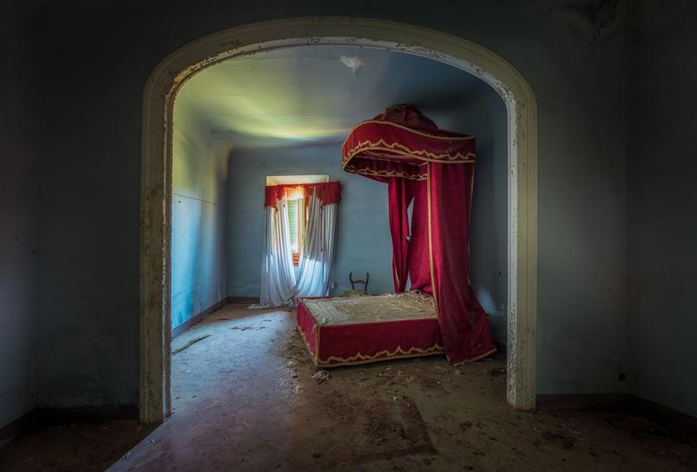 Het bed van Sinterklaas