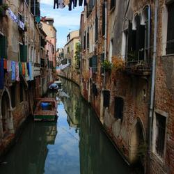 wasdag in Venetië