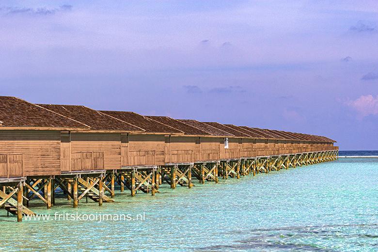 Reperende huisjes op Meeru Island - 20200109 0237 Repeterende huisjes op Meeru Island