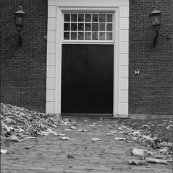 Kerkdeur zwart wit Canon 650D test