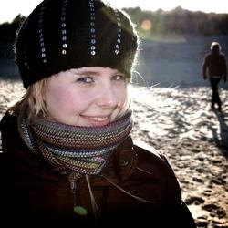 Winter Beach Smile