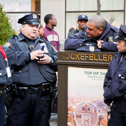 Politie aan de Red Bull