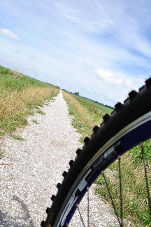 fietstocht - fietspad