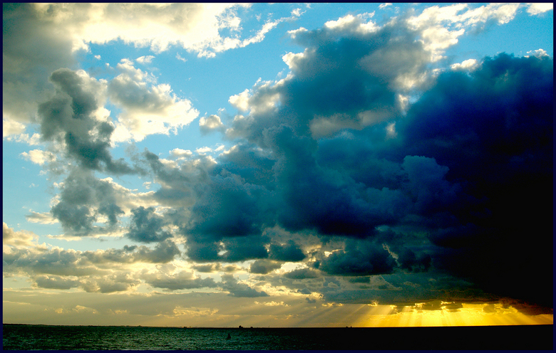 Strange Colours In The Sky -