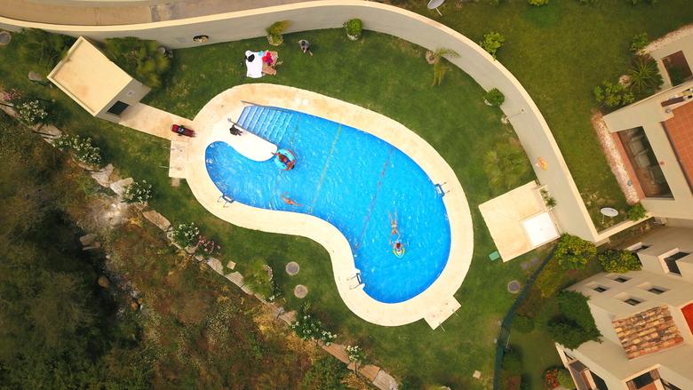 Summer dip - Spain