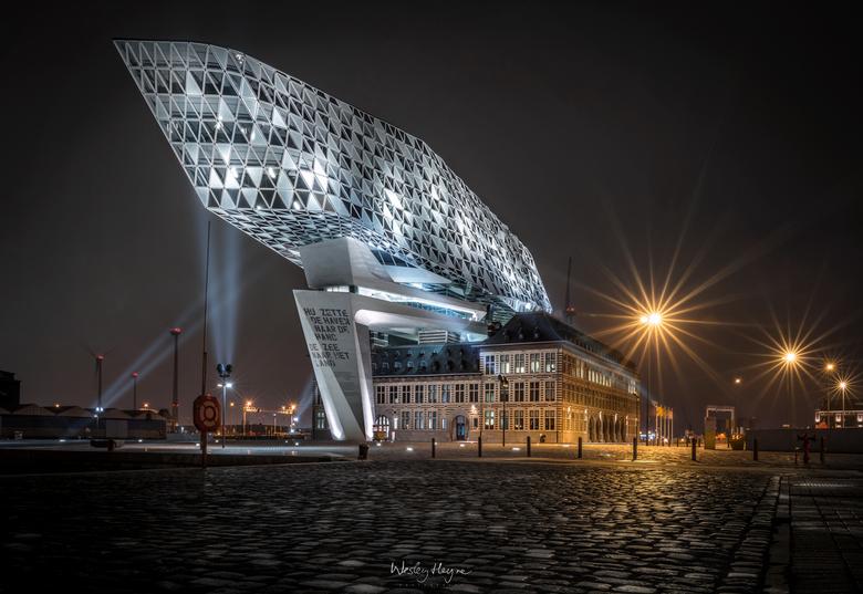 Het havenhuis in Antwerpen -