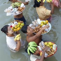 Verkoopsters Myanmar