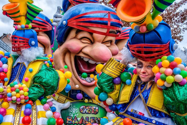 Aalst Carnaval - Voorbereidingen voor de grote optocht in Aalst Belgie