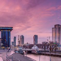 Rotterdam in de avond 1