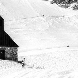 Kerkje op de Zugspitse
