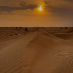 hete woestijn