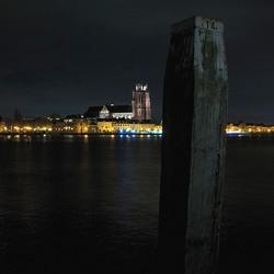 Dordrecht in de nacht