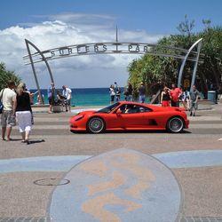 Ferrari in Surfers Paradise