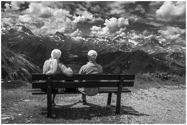 Enjoying the view  -