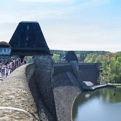 Dam in de Mohnesee