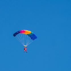 eenzame parachutist