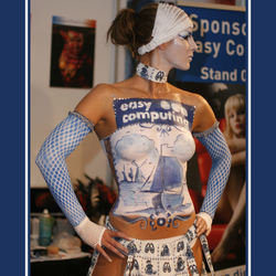 Delfts Blauw Body Painted Model - 2