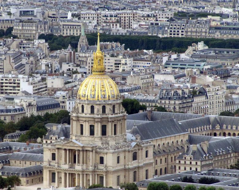 parijs - uitzicht vanaf tour montpernasse