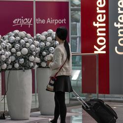 Commercial shoot Dusseldorf Airport