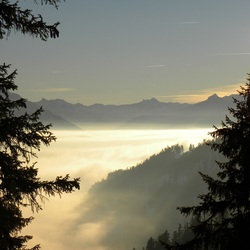 Uitzicht vanaf Howald, Beatenberg