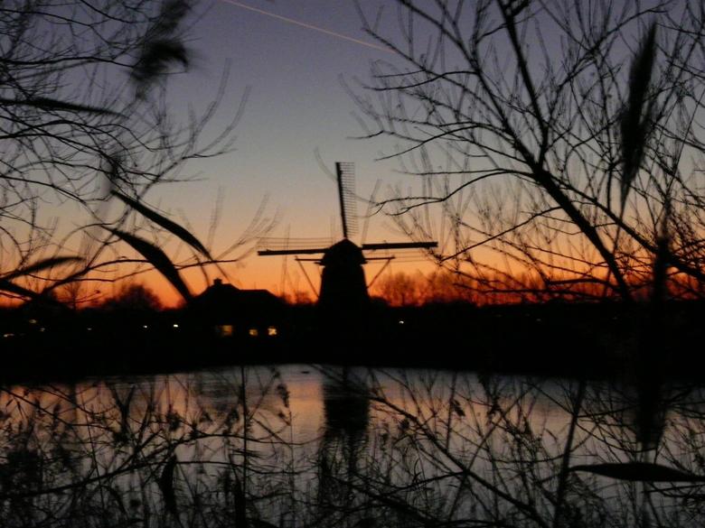 Molen bij Leiden Merewijk - Gemaakt met een Pannasonic FZ18