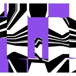 Zebra crossing in the city ...