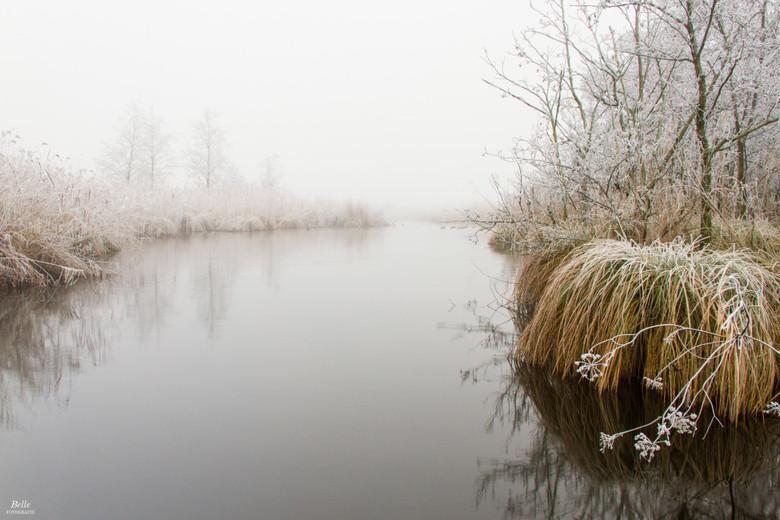Winter Boezemweg - Winters landschap in Ameide
