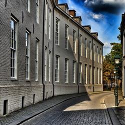 Straat in Breda