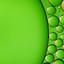 oliedruppels op water groen