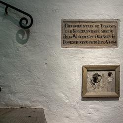 Executie plaats van Willem de Zwijger