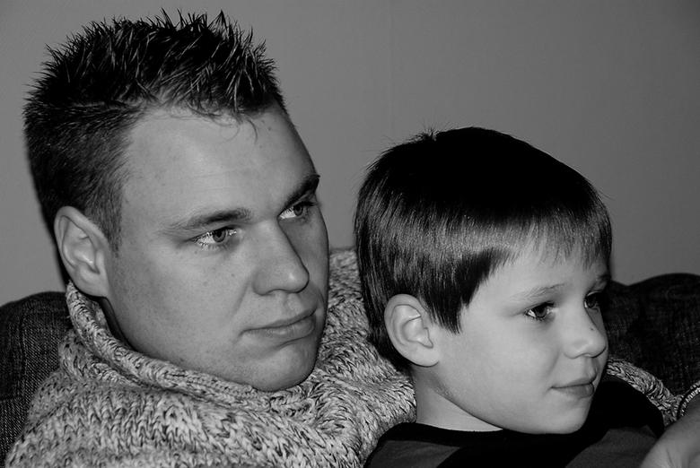 Eén gezicht - Zo vader zo zoon......