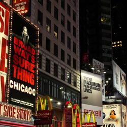 Times Square New York @ Night