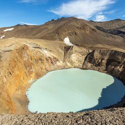 Askja Vulkaan, IJsland